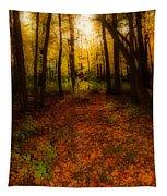 Golden Autumn  Tapestry