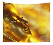 Golden Buddha Tapestry