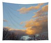 Golden Cascade Tapestry