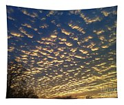 Golden Clouds Tapestry