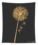 Golden Dandelion Tapestry