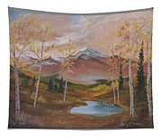 Golden Fire Of Autumn Tapestry