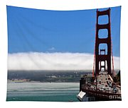 Golden Gate Bridge Looking South Tapestry