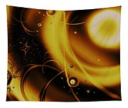 Golden Halo Tapestry