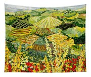 Golden Hedge Tapestry