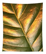 Golden Leaf 2 Tapestry