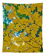 Golden Leaves Of Autumn Tapestry