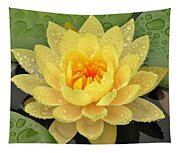 Golden Lily Tapestry