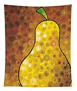 Golden Pear Tapestry