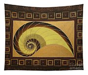 Golden Ratio Spiral Tapestry
