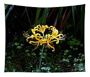 Golden Spider Lily Tapestry