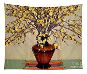 Golden Spray -1 Tapestry