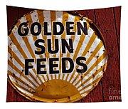 Golden Sun Feeds Tapestry