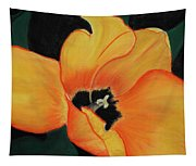 Golden Tulip Tapestry