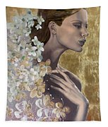 Golden Wind Tapestry