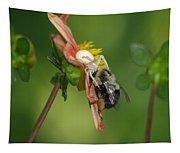 Goldenrod Spider Tapestry