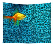 Goldfish Study 3 - Stone Rock'd Art By Sharon Cummings Tapestry