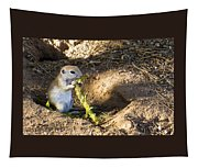 Golf Course Gopher Tapestry