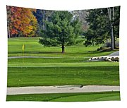 Golf Course Guardians Tapestry