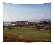 Golf Course On Half Moon Bay Tapestry