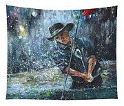 Golf Delirium Nocturnum 02 Tapestry