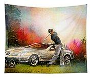 Golf In Gut Laerchehof Germany 03 Tapestry