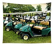 Golfers Take Your Pick Tapestry