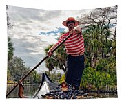 Gondola Ride In City Park New Orleans Tapestry