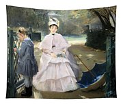 Gonzales' Nanny And Child Tapestry