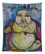 Good Luck Buddha Tapestry