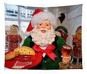 Good Time Santa Tapestry