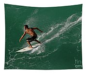 Good Waves Good Body Tapestry