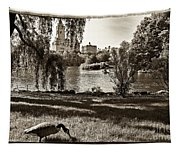 Goose In Central Park Nyc Tapestry
