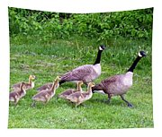 Goose Step Tapestry