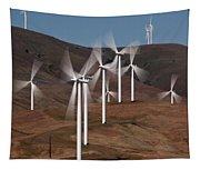 Gorge Windmills Tapestry