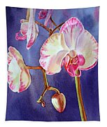 Gorgeous Orchid Tapestry
