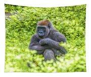 Gorilla Resting Tapestry