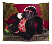 Gorilla With Shades-faa Tapestry
