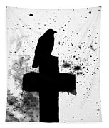 Gothic Black And White Tapestry