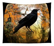Gothic Fish Eye Tapestry