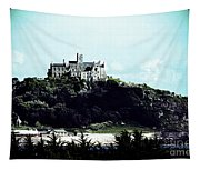 Gothic St Michael's Mount Cornwall Tapestry