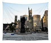 Government Of The People Statue Tapestry