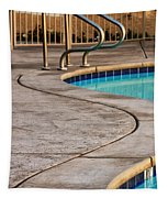 Gracious Curves Palm Springs Tapestry