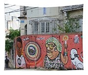 Graffiti In Salvador Tapestry