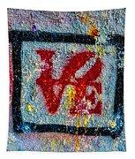 Graffiti Love Tapestry