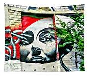 Grafitti Three Lady Tapestry