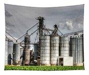 Grain Elevators Tapestry