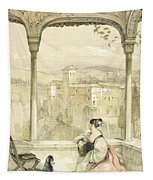 Granada , Plate 9 From Sketches Tapestry
