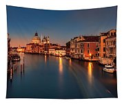 Grand Canal At Dusk Tapestry
