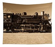 Grand Canyon 29 Railway Engine Tapestry